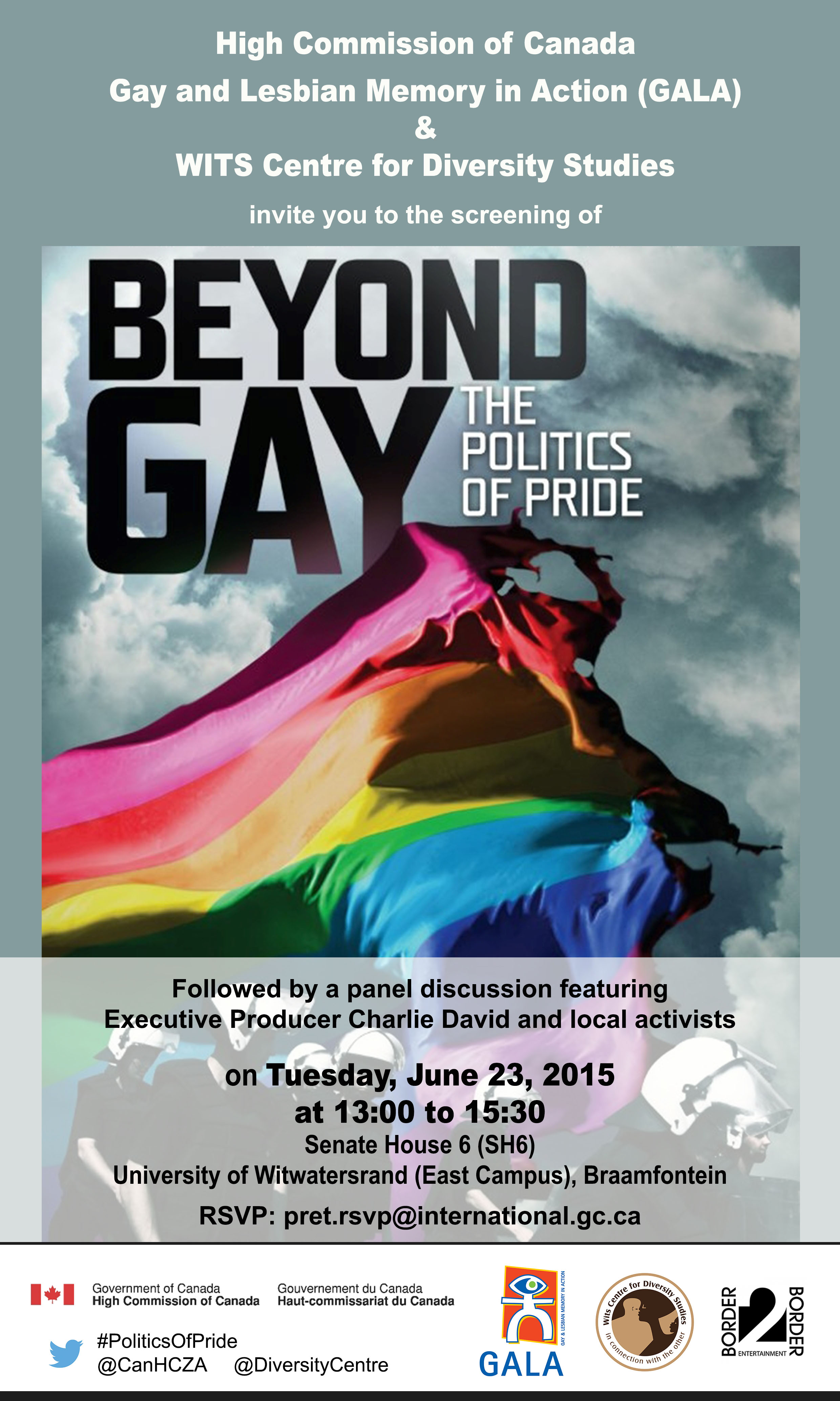 Screening and discussion 'Beyond Gay The Politics of Pride'